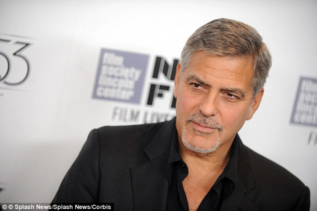 The researchers set out to unveil the psychological bases of charisma, and whether this quality depends on some specific traits. One thing they noticed was that celebrities and other public figures deemed charismatic were all unusually sharp-witted (Charismatic actor and activist George Clooney is pictured)
